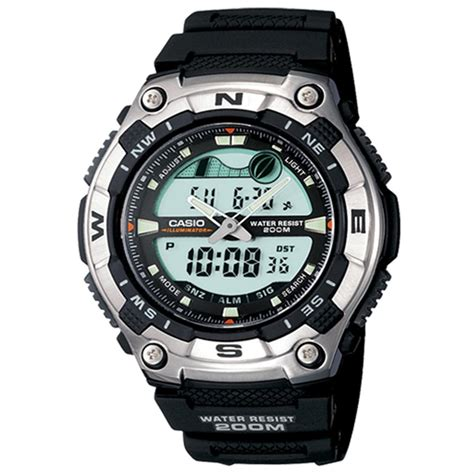 s casio 174 forester sport active combination