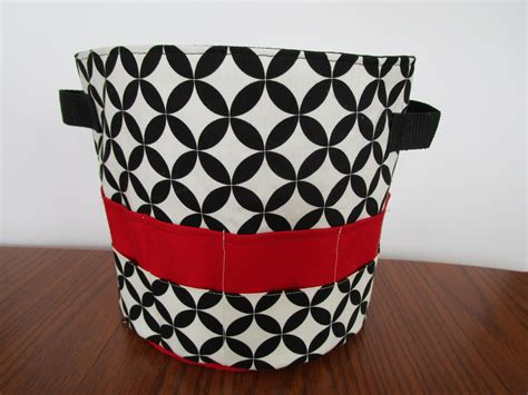 pattern fabric storage basket fabric storage basket pattern 2 sizes included fabric bin