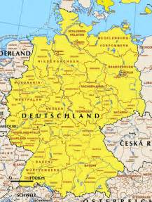 Political Map Of Germany by Political Map Of Germany Full Size