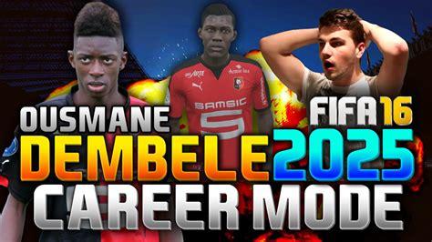 ousmane dembele on fifa 18 fifa 16 ousmane dembele in 2025 career mode youtube