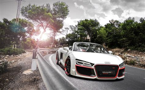 Audi R8 Spyder Wallpaper