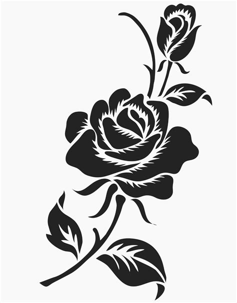 tribal black rose tattoo tribal tattoos