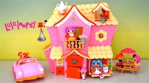 lalaloopsy house lalaloopsy dollhouse sew sweet playhouse cruiser full