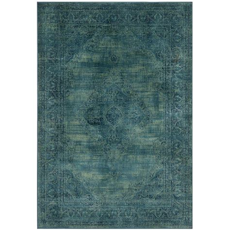 safavieh vintage turquoise multi 5 safavieh vintage turquoise multi 5 ft 3 in x 7 ft 6 in area rug vtg112 2220 5 the home depot