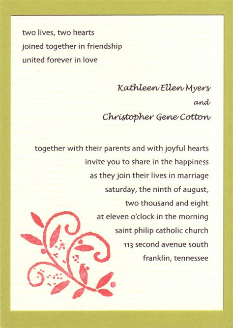 wedding invitation wording template wedding invitations cards wording wedding invitation