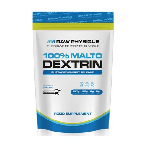 600g carbohydrates maltodextrin 600g physique carbohydrates