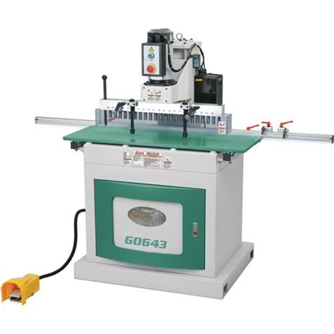 line boring machine woodworking 21 bit line boring machine grizzly industrial
