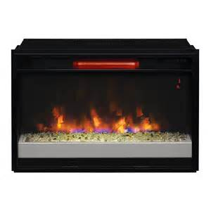 Fireplace Insert Electric Classicflame 26 In Contemporary Spectrafire Plus Infrared Fireplace Insert 26ii310grg 201