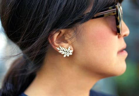 diy ear cuff picture of gorgeous diy ear cuff with swarovski rhinestones 10