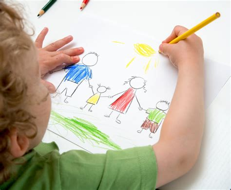 Want To Improve Your Kids Writing Let Them Draw Children Drawing Pictures For Painting