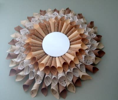 mirror craft paper 10 diy sunburst mirrors from different materials shelterness