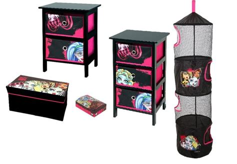 monster high bedrooms details about monster high 5 piece bedroom package 2