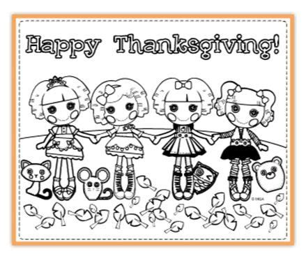 thanksgiving coloring pages nick jr 17 best images about coloriages lalaloopsy on pinterest