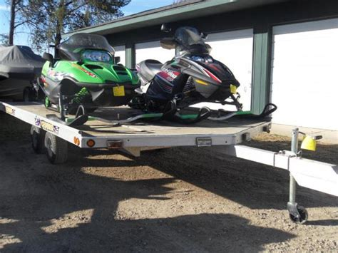 Sled Bed Trailer by Snowmobile Sled Rvs For Sale