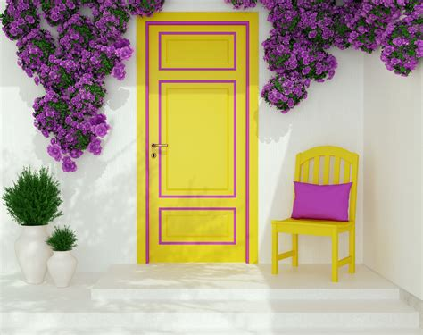 Yellow Front Door Meaning What Does Your Front Door Color Say About You Window World Tx