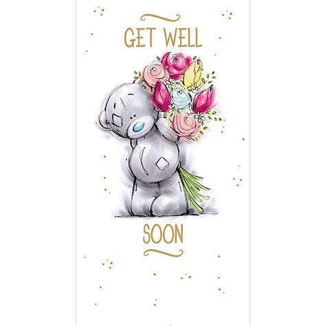 get well soon me to you bear card a91cs016 me to you