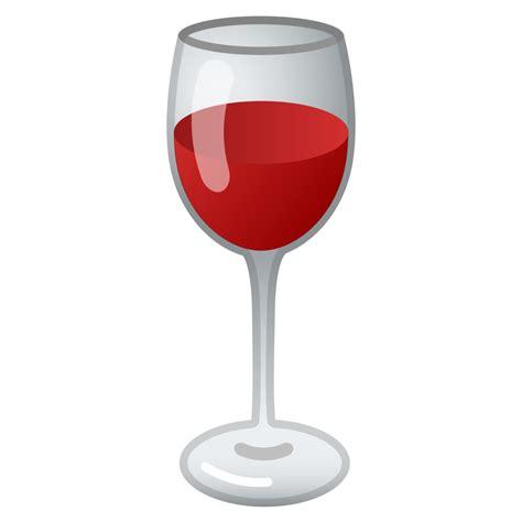 wine emoji wine glass icon noto emoji food drink iconset google