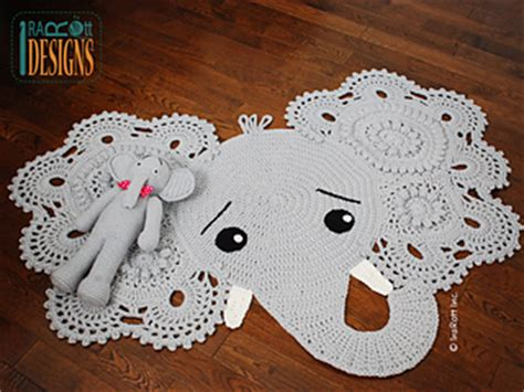 Elephant Rug Pattern Free by Ravelry Josefina And Jeffery Elephant Rug Pattern By Ira Rott