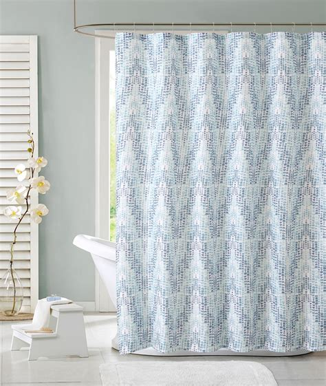 shower curtains at sears colormate zoey shower curtain blue