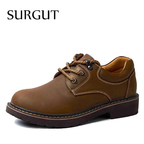 Best Handmade Mens Shoes - surgut brand handmade breathable s oxford shoes top