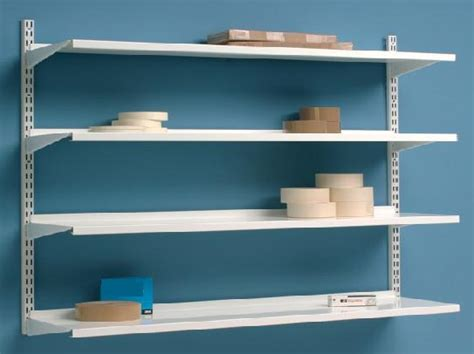 wall mounted shelves for garage wall storage shelves images