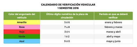 costo de verificacion vehicular en morelos 2016 costos verificacion estado de morelos 2016 costo