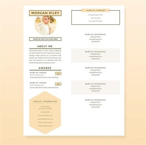 Pretty Resume Templates by Pretty Resume Templates