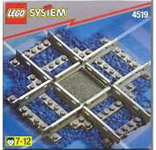 LEGO Rail Crossing Instructions 4519 Trains