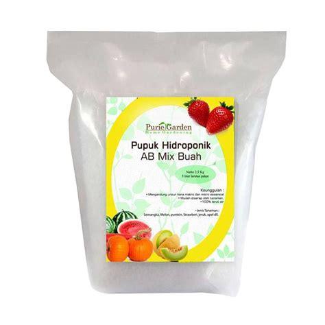 Nutrisi Hidroponik Ab Mix Buah jual puriegarden nutrisi hidroponik ab mix tanaman buah 2