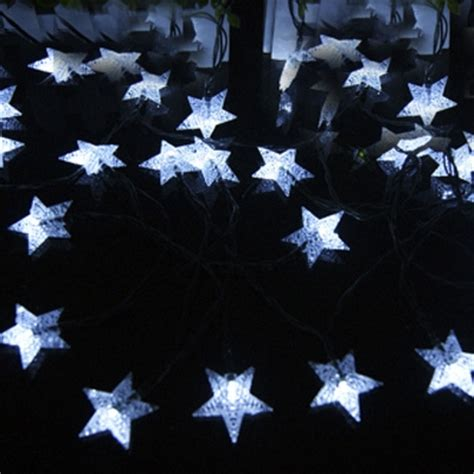 star shaped solar string lights fashion style solar lights beautifulhalo com