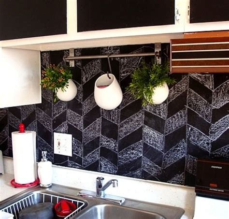 chalkboard kitchen backsplash chalkboard paint diy bob vila s blogs