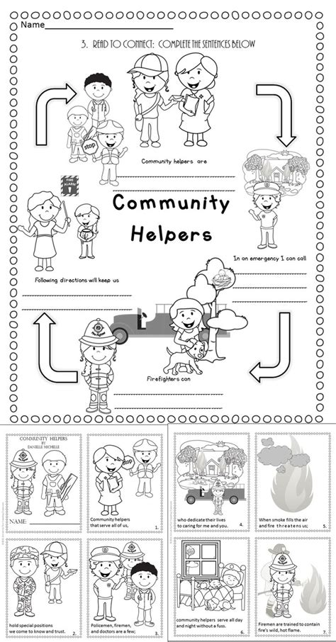 the 25 best community helpers worksheets ideas on