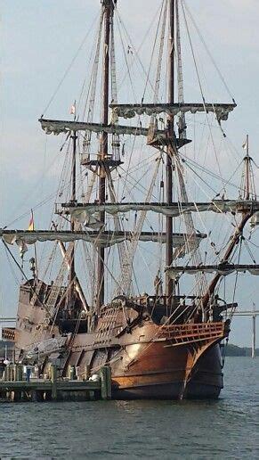 to dock a boat in spanish 16th century spanish ship el galeon docks on charleston