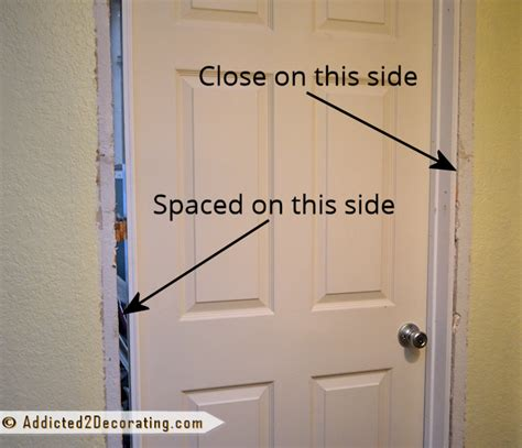 How To Hang A Prehung Exterior Door How To Install A Prehung Door Tips From A Novice