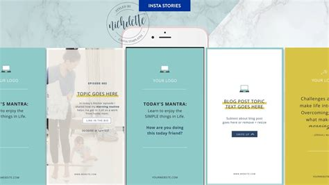 Canva Instagram Stories Templates Instagram Story Template Canva