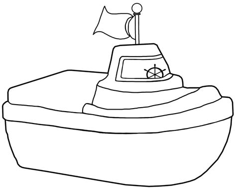 best boat coloring page 16 4476