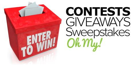 Entering Sweepstakes - how to run a viral contest and sweepstakes