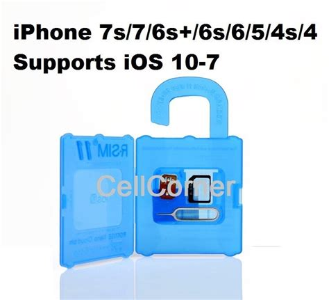 r sim 11 unlock apple iphone 5 5s 6 6s plus ios8 ios 10 sprint usa t mobile au ebay