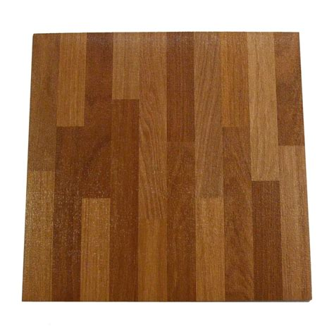 winton 305 x 305mm finger wood self stick vinyl tile bunnings warehouse