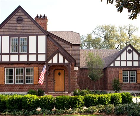 tudor style home renovation better homes gardens