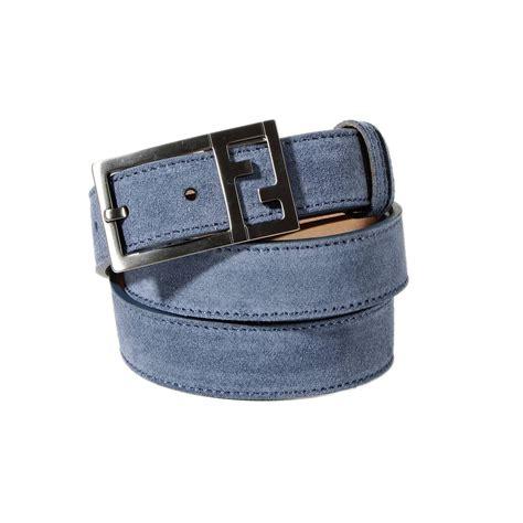 Belt 28cm lyst fendi classic belt suede w 2 8 cm l 124 cm in blue for