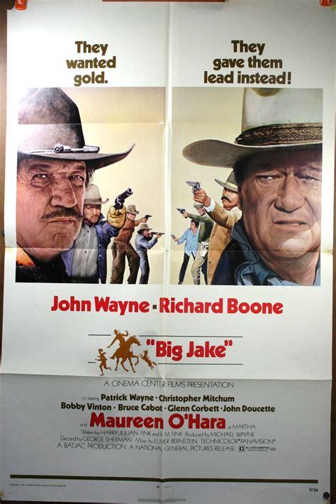 big jake big jake wayne vintage poster