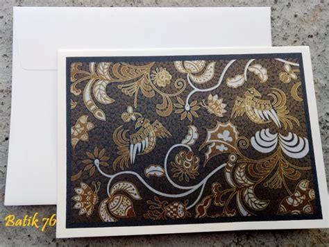 Kartu Ucapan Handmade Batik76 Motif 1 jual kartu ucapan handmade motif merpati size l kartu ucapan batik kartu ucapan ulang tahun