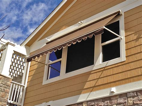 cloth awnings for windows robusta heavy duty retractable window awning