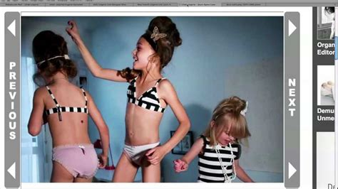 young pre teen models youtube child lingerie stirs controversy youtube