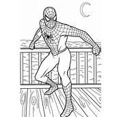Printable Spiderman Coloring Pages Venom
