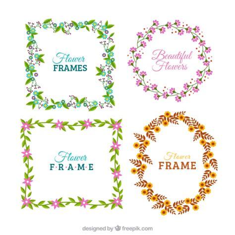 cornici floreali gratis cornici floreali colorati scaricare vettori gratis