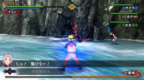 game psp naruto format iso naruto shippuuden kizuna drive psp gameplay intro hd
