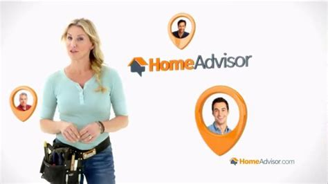 homeadvisor tv commercial pros you can trust