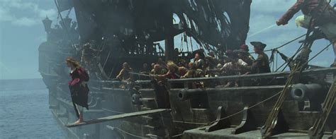 Walking The Plank by Image Black Pearl Plank Jpg Potc Wiki Fandom Powered
